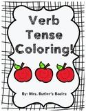 Verb Tense Coloring