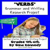 Verb Tense Enrichment Writing & Research Project