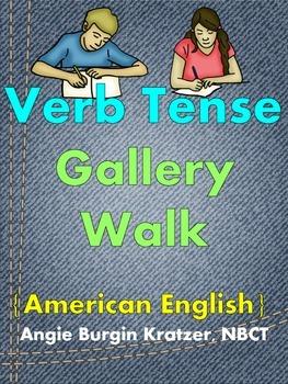 Verb Tense Gallery Walk {FREE}