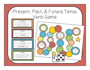 Verb Tenses Game & Worksheets | Teachers Pay Teachers