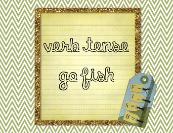 Verb Tense Go Fish