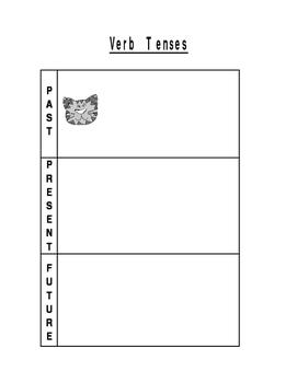 Verb Tense Interactive Notebook Flip Book