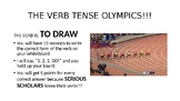 Verb Tense Olympics Review