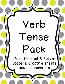 Verb Tense Pack