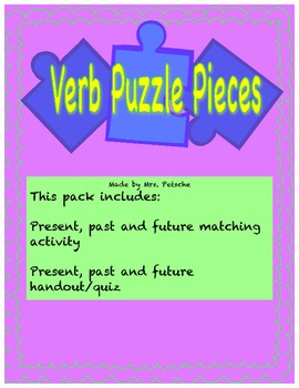 Verb Tense (Past, Present and Future)