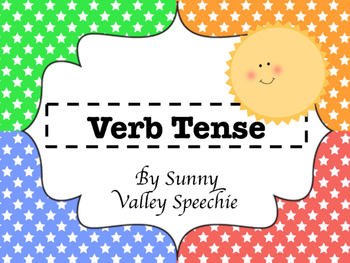 Verb Tense - Posters - 2 games