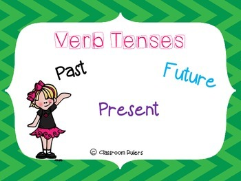 Verb Tense Posters and Sorts