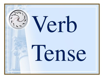 Verb Tense Powerpoint 17 slides