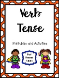 Verb Tense Printables and Activities
