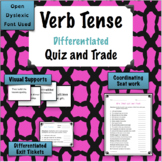 Verb Tense Game - Quiz and Trade