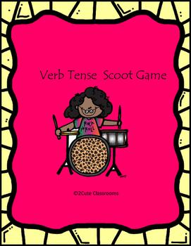 Verb Tense Scoot Game