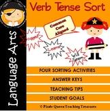 Verb Tense Sort—Past, Present, Future/CCSS Aligned 3rd Grade Up