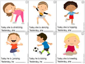 Verb Tense Task Cards