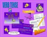 Verb Tense - Verb Tenses Worksheet