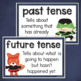 Verbs and Verb Tenses Activities: Past, Present, Future
