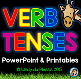 Verb Tenses PowerPoint and Worksheets