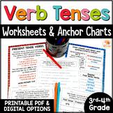 Verb Tenses Worksheets and Anchor Charts