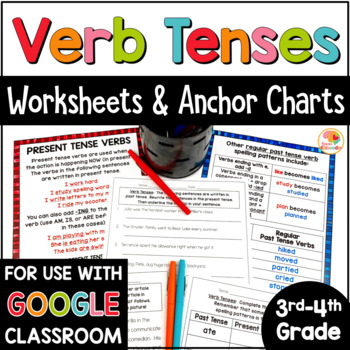 Verb Tenses Activities   Verb Tenses Worksheets