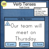 Verb Tenses Clip Cards