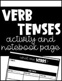 Verb Tenses Activity
