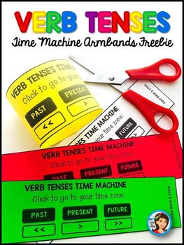 Verb Tenses Armband Freebie