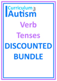 Verb Tenses BUNDLE Autism Special Education