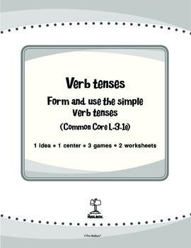 Verb Tenses (Common Core L.3.1e)