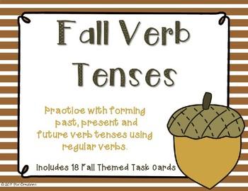 Verb Tenses {Fall Theme}