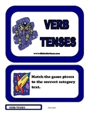 Verb Tenses File Folder Game