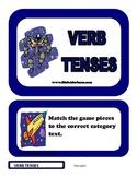 Verb Tenses File Folder Game