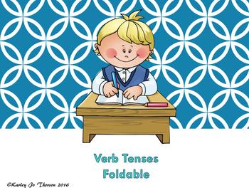 Verb Tenses Foldable