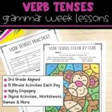 Verb Tenses | Full Week Lesson Plans for Third Grade