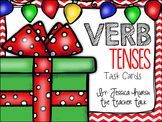 Verb Tenses Holiday Task Cards