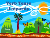 Verb Tenses Jeopardy Review Game