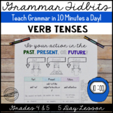 Verb Tenses Lesson 5 Day Unit Teach in 10 Minutes/Day!