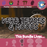 Verb Tenses & Moods -- Grammar & Punctuation -- ELA Unit Bundle
