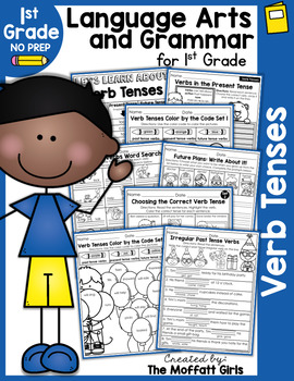 Verb Tenses NO PREP Packet