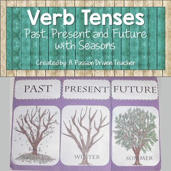 Verb Tenses: Past Present and Future with Seasons