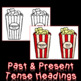 Verb Tenses Literacy Center - Past and Present Tense Sort
