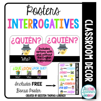 Interrogative Posters