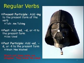 Verb Tense PowerPoint