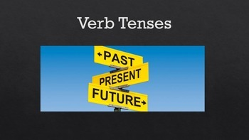 Verb Tenses Presentation and Guided Notes