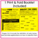 Verb Tense Shifts Interactive Notebook Print & Fold Activity