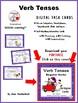 DIGITAL Verb Tenses ... Regular Verbs ... Grammar: BOOM Internet Task Cards