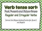 Verb Tenses: Regular and Irregular Verbs