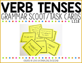 Verb Tenses Task Cards | DIGITAL | DISTANCE LEARNING