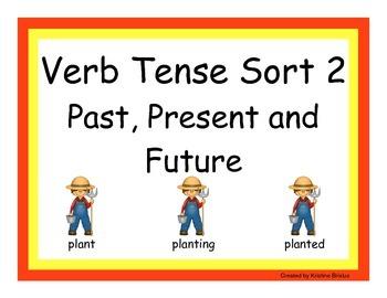 Verb Tenses Set 2: Past, Present and Future