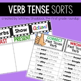 Verb Tenses Anchor Charts and Sorts