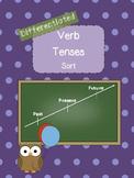 Verb Tenses Sort- Differentiated