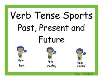 Verb Tenses Sports and Activities